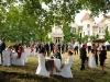 Mariage dans le parc