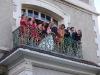Mariage au balcon